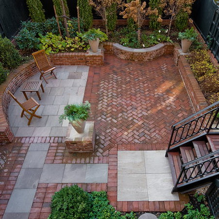 Red Brick Patio thurmanbricksample